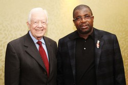 Jimmy Carter and Sir Emeka Offor