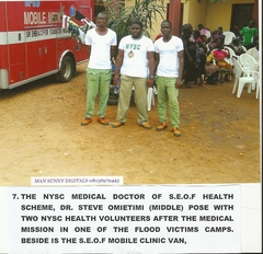 Medical Mission to Camps for People Displaced by Floods