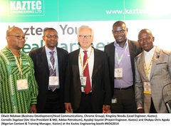 Kaztec Engineering Ltd. at the Nigerian Oil and Gas Conference 2014
