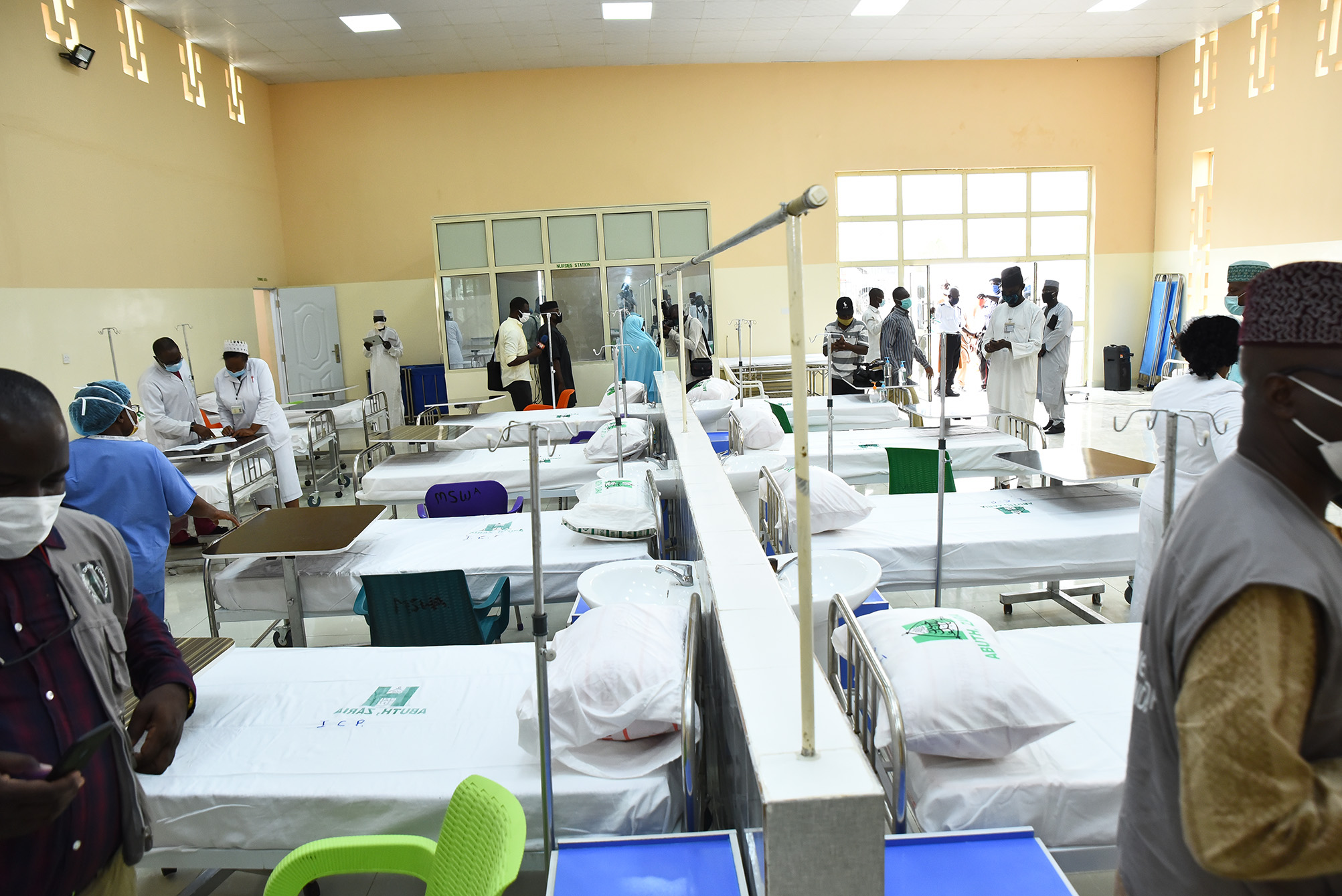 Sir Emeka Offor Foundation Donates Hospital Bed Sets to ABUTH Zaria