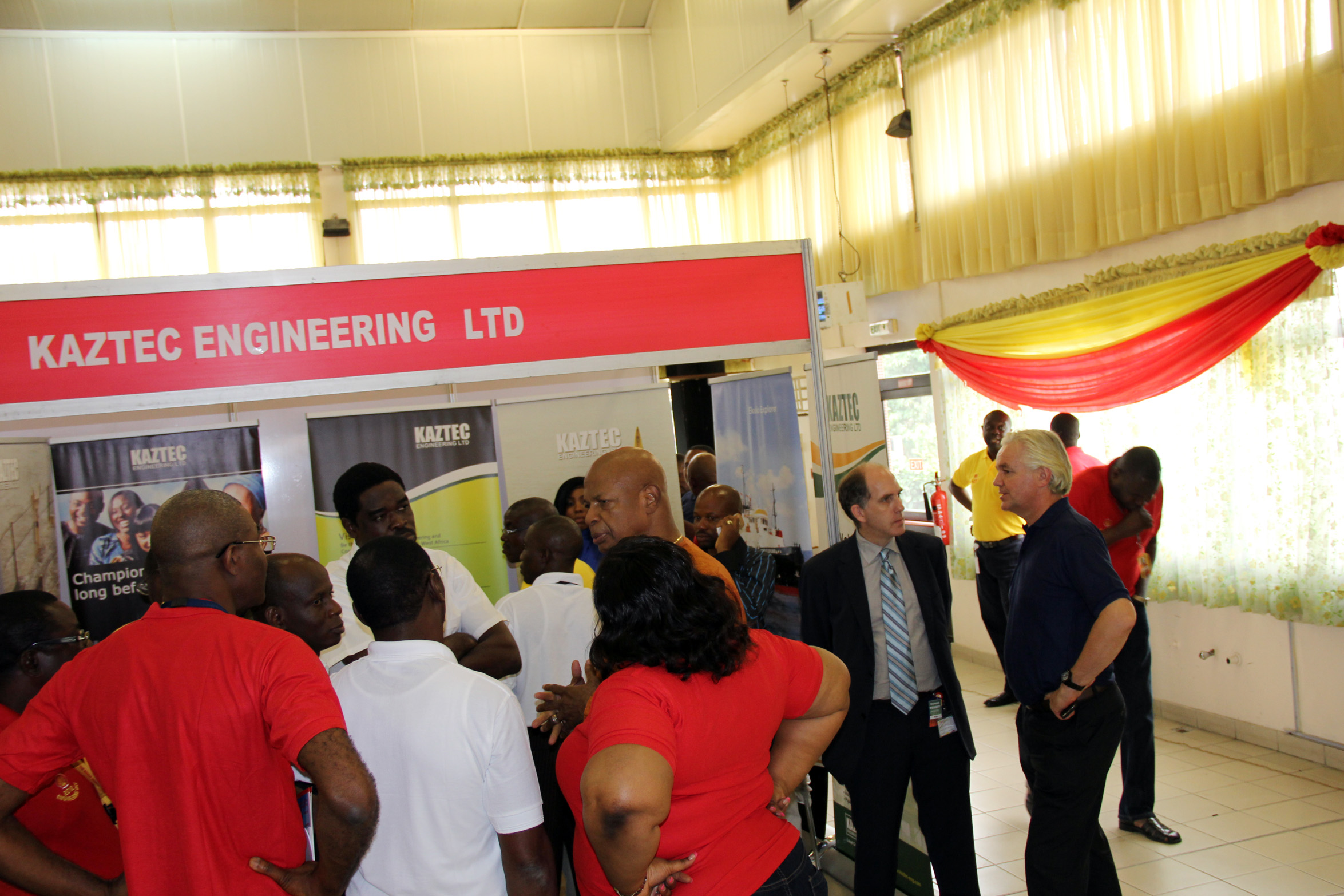 Kaztec Engineering Ltd. at Engineering Day 2012