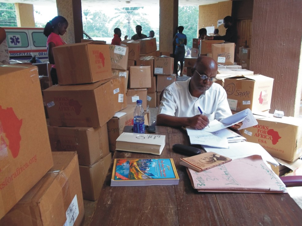 Sir Emeka Offor Foundation and Books for Africa