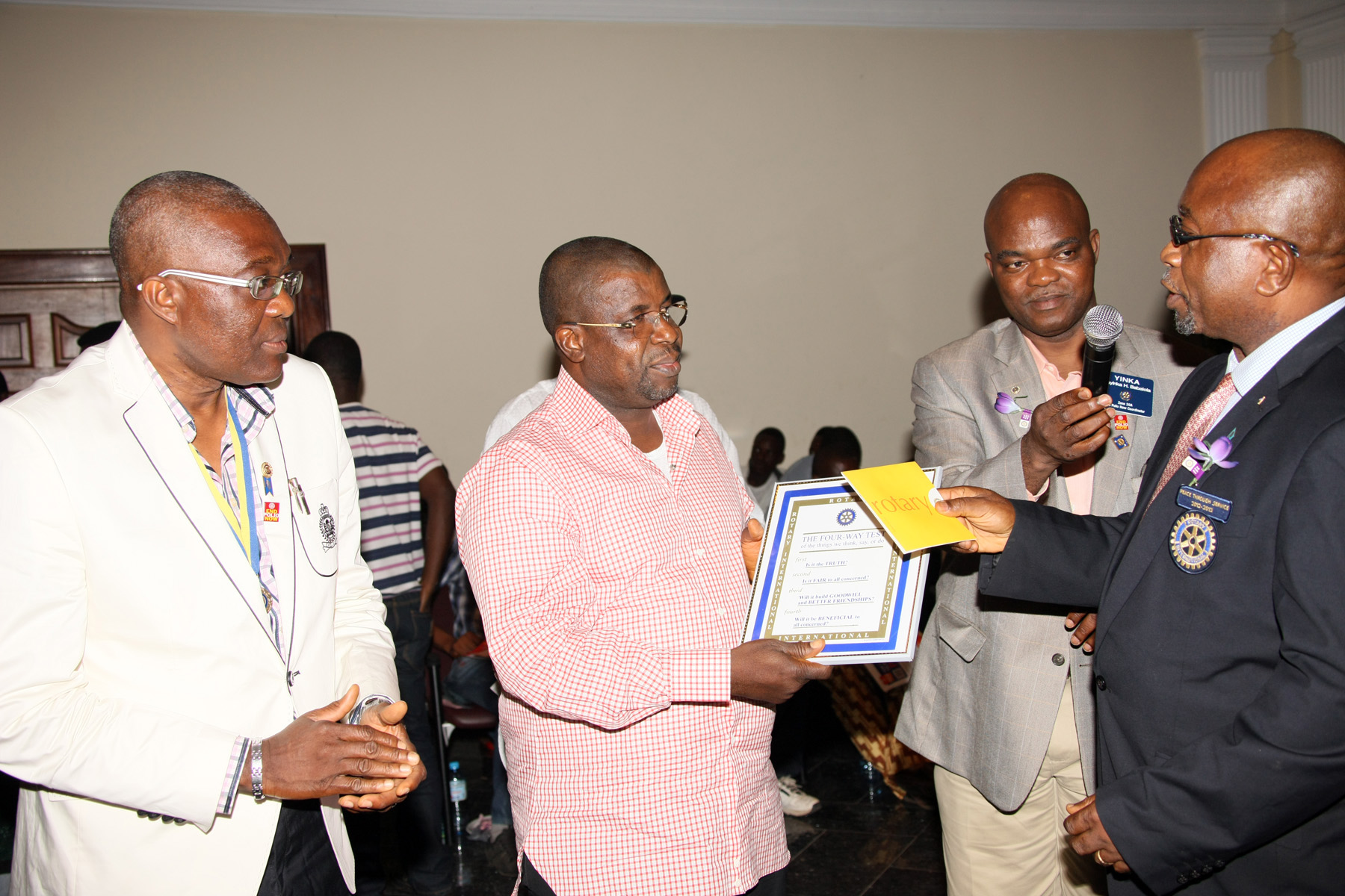 Sir Emeka Offor Recognized by Rotary International