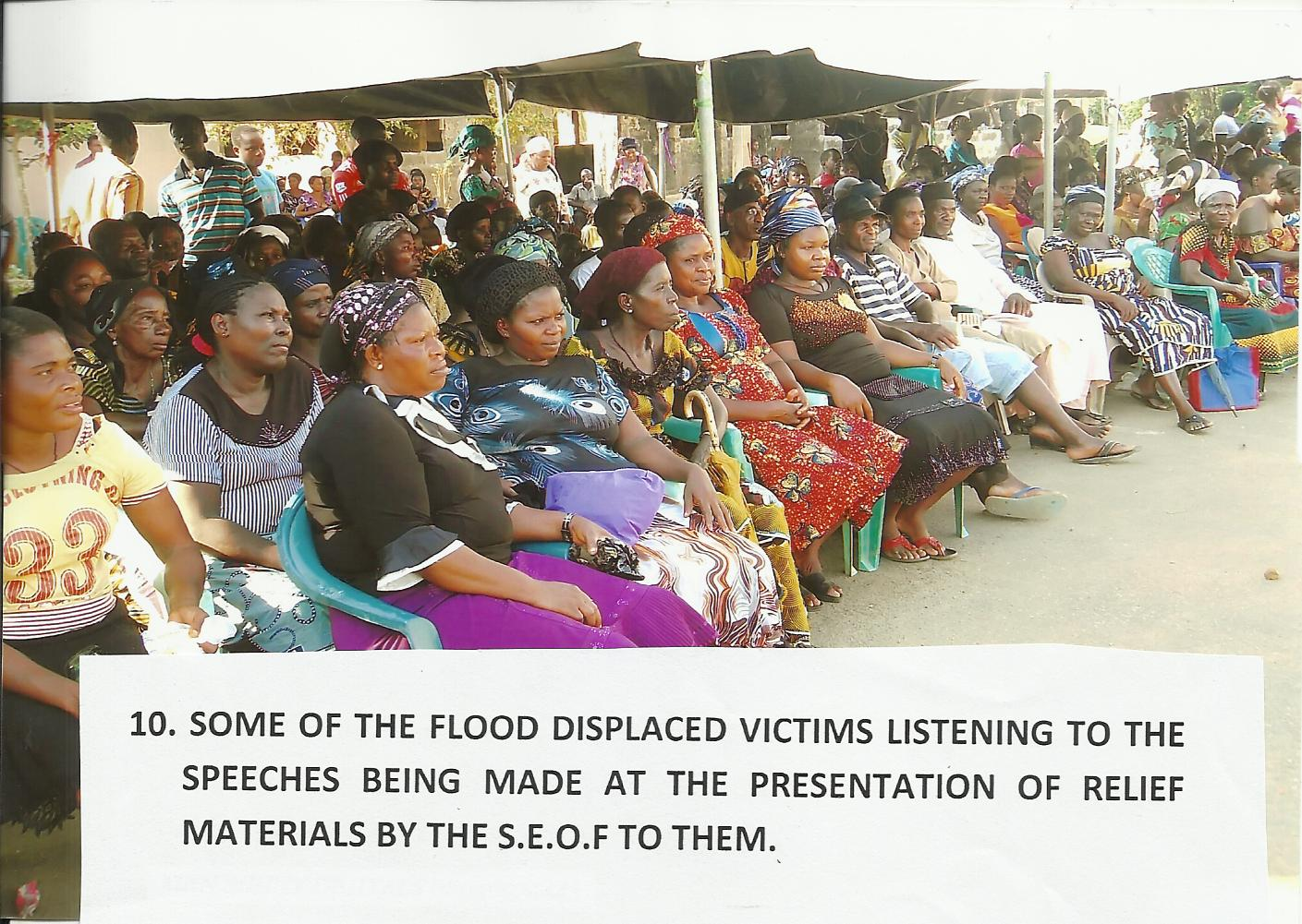 Visit to the Ogbaru L.G.A. Flood Displaced Victims Camps