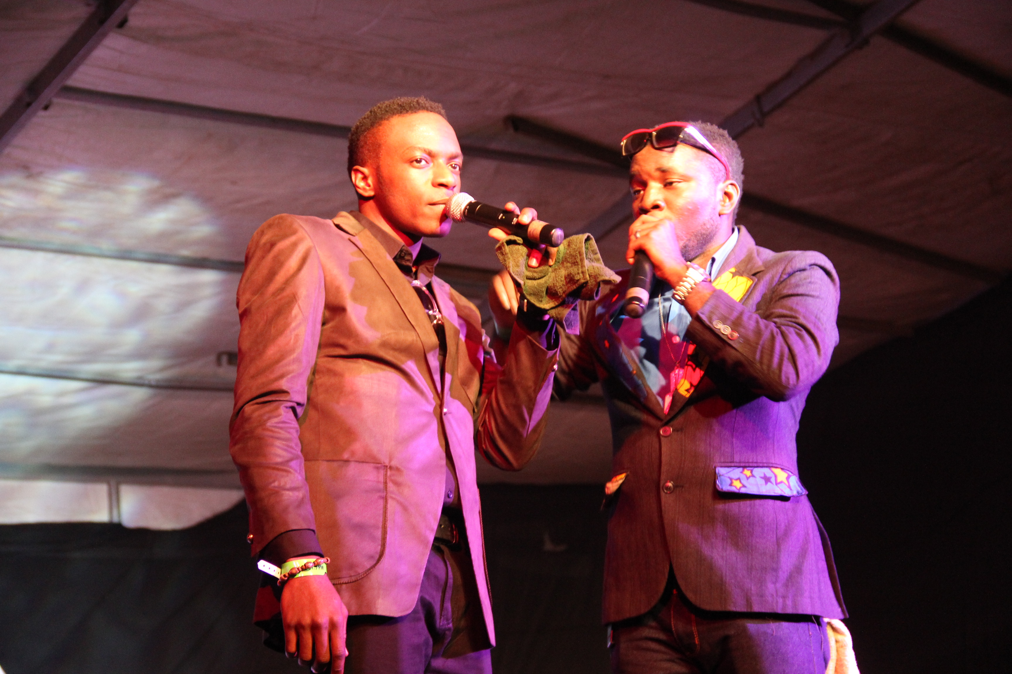 Blaze FM's OAP, JJ and Comedian MC Lord eL