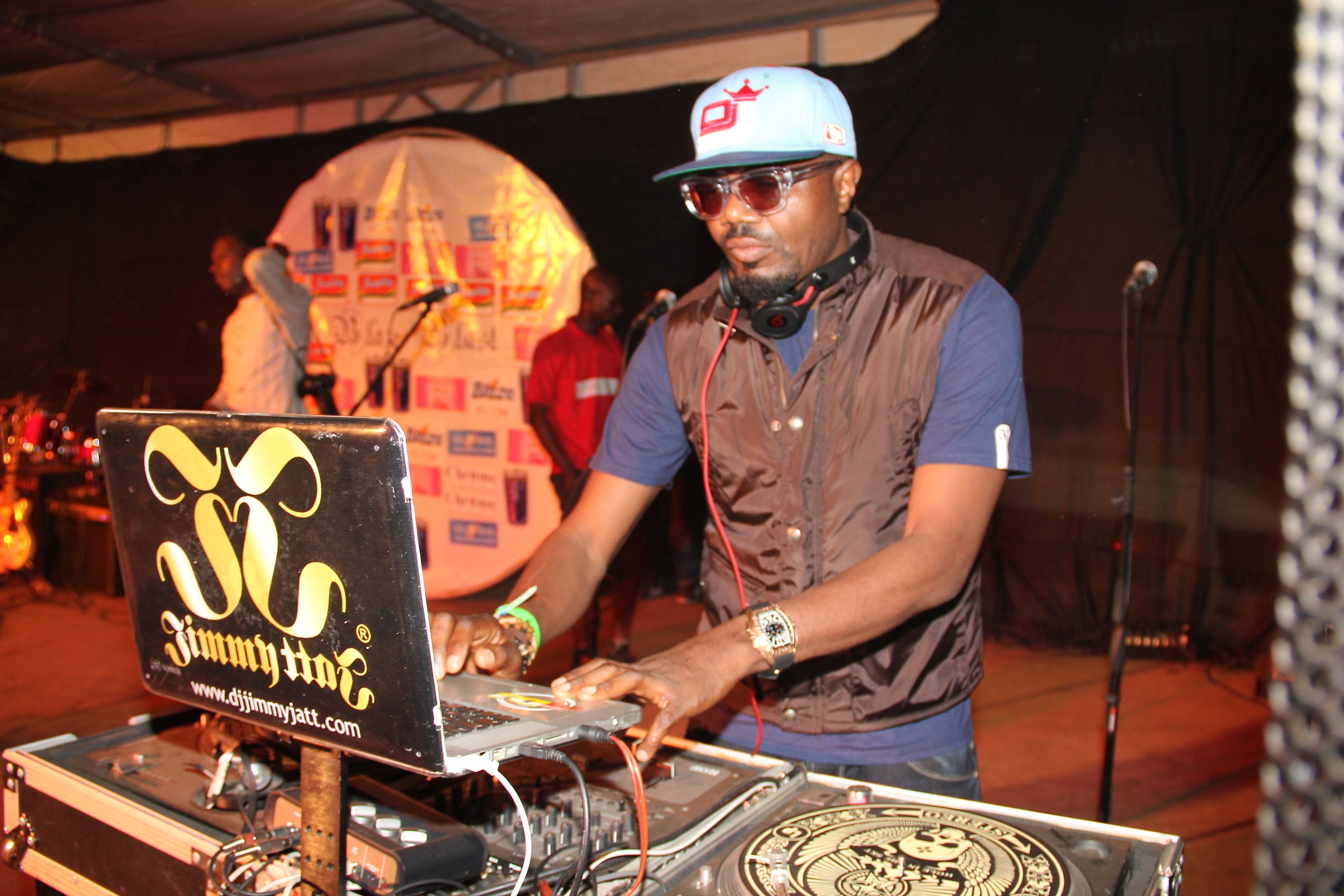 Jimmy Jatt on the ones and twos
