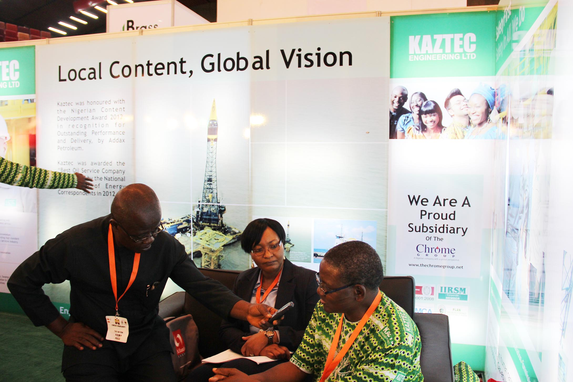 Kaztec Engineering Ltd. at Nigeria Oil & Gas 2013