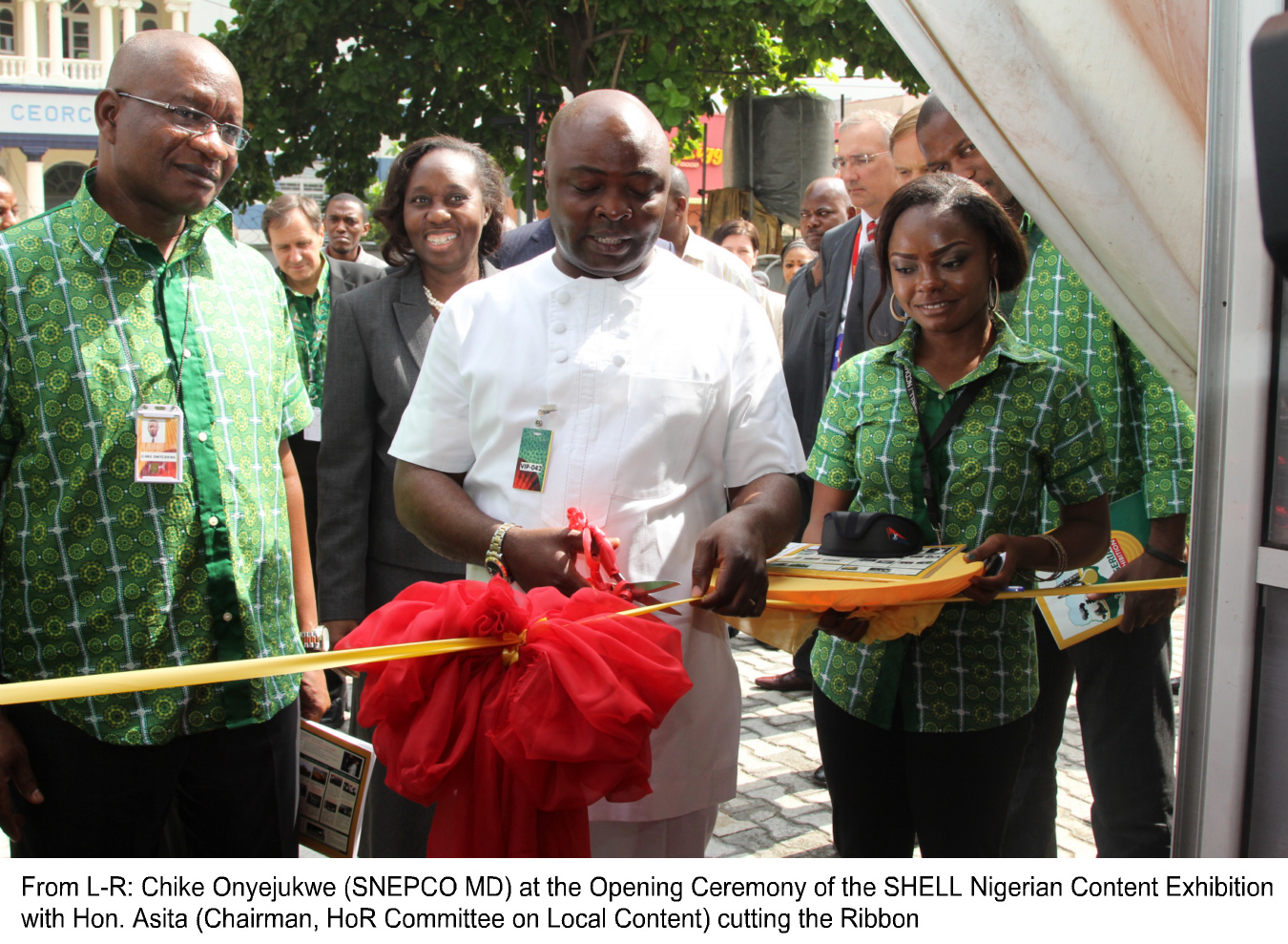 Opening Ceremony of the SHELL Nigerian Content Exhibition