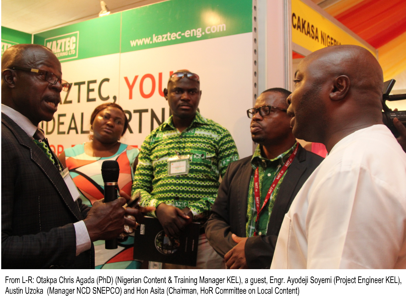 Kaztec Participated in the 2013 SHELL Nigerian Content Exhibition