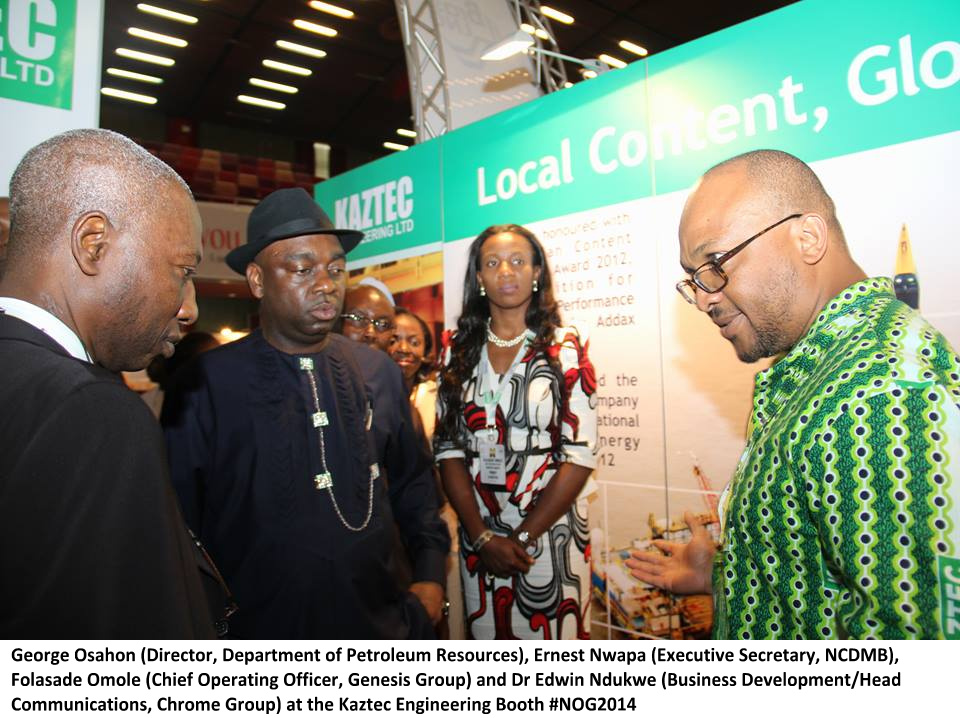 Kaztec at the Nigerian Oil and Gas Conference 2014