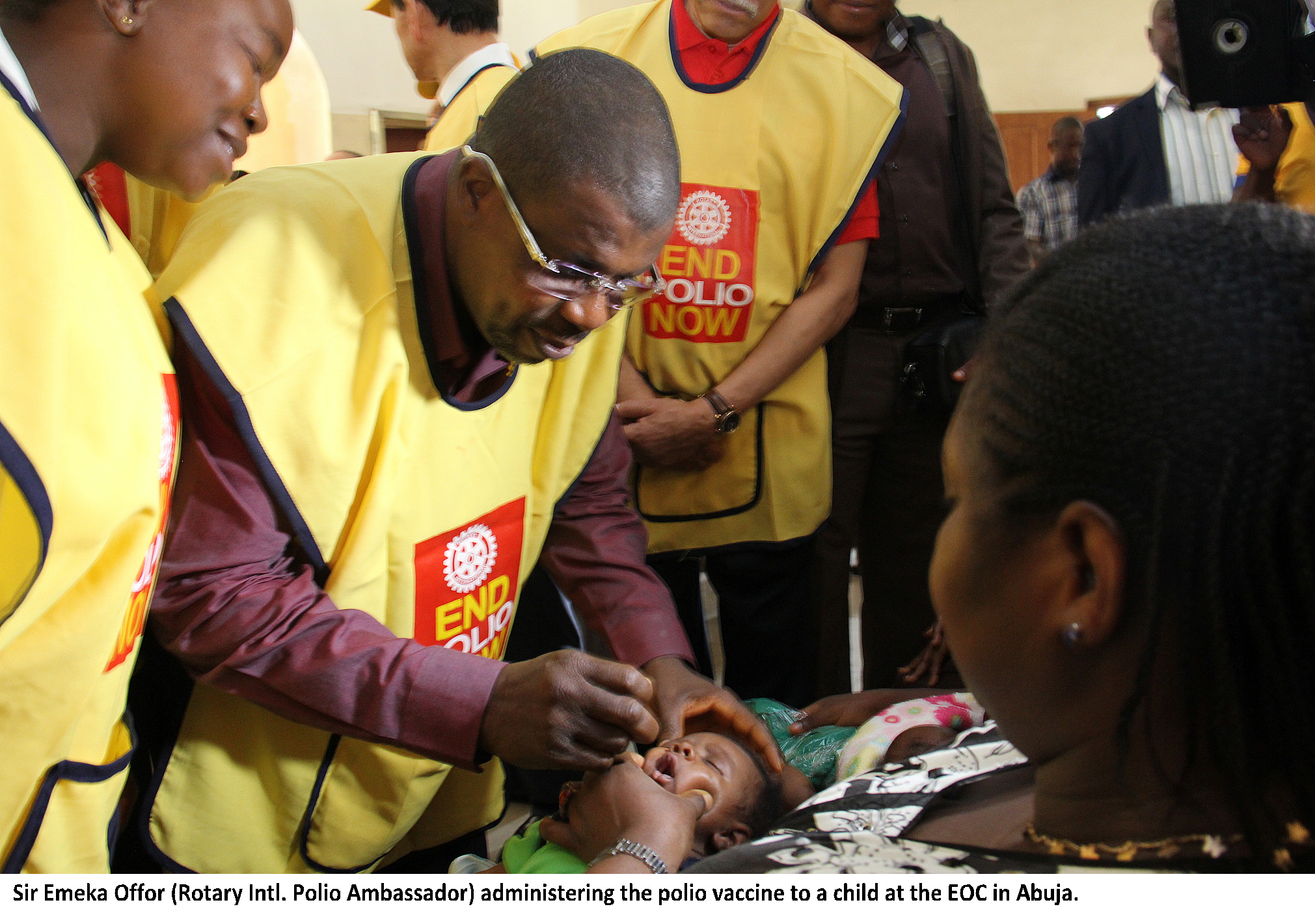 Sir Emeka Offor's giant strides to eradicate Polio