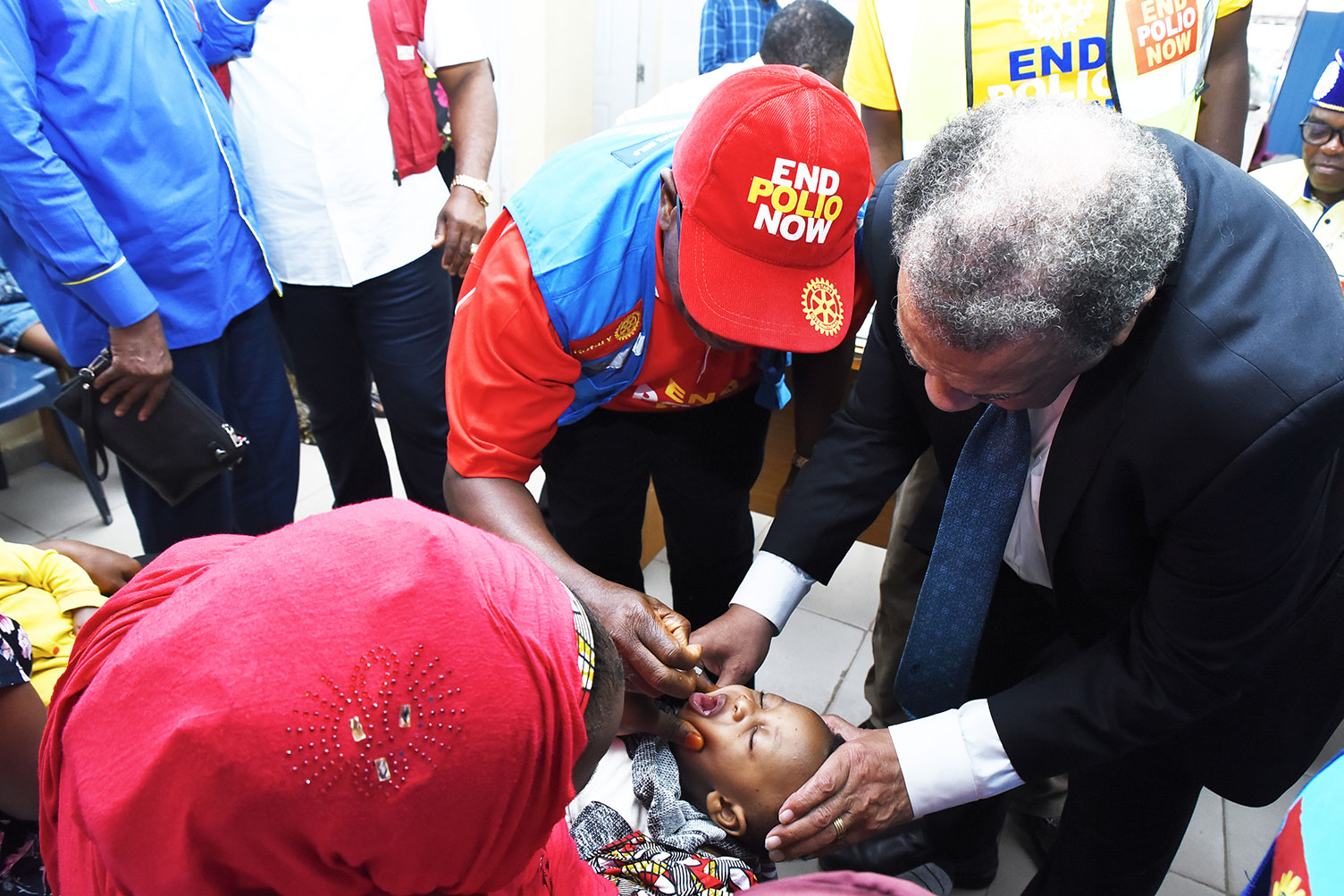 Sir Emeka Offor Foundation Joins Rotary International to mark Nigeria's three years without wild poliovirus